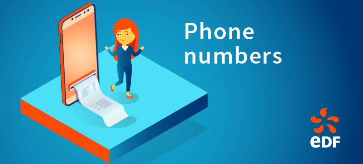 EDF Phone Numbers